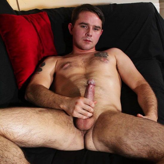 Darren Daley strokes his uncut cock | Daily Dudes @ Dude Dump