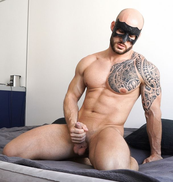 David's Apartment: David Boss bust a nut! | Daily Dudes @ Dude Dump