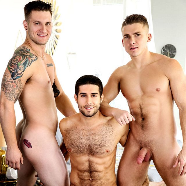 Diego, Jake and Allen fuck | Daily Dudes @ Dude Dump