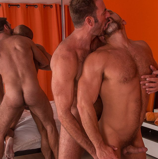 Dirk Caber and Anthony London Flip Fuck | Daily Dudes @ Dude Dump