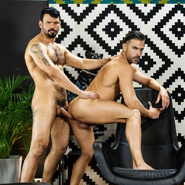 D.O. and Jean Franko fuck | Daily Dudes @ Dude Dump