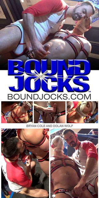 Dolan Wolf and bound Bryan Cole | Daily Dudes @ Dude Dump