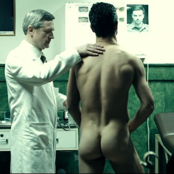 Dominic Cooper's cute naked butt | Daily Dudes @ Dude Dump