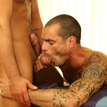 Dominic Pacifico And Issac Jones; Massage Session | Daily Dudes @ Dude Dump