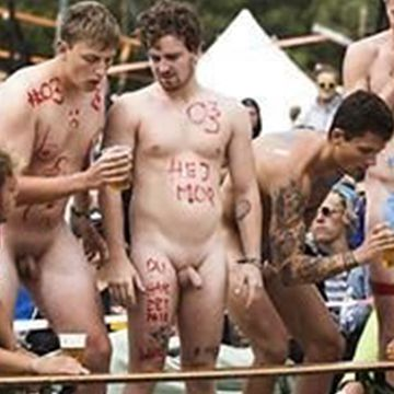 Dudes with dicks out for the Roskilde Festival   Daily Dudes @ Dude Dump