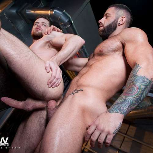 Eddy Ceetee and Kurtis Wolfe Flip Fuck Raw | Daily Dudes @ Dude Dump