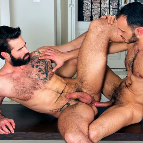Ely Chaim fills Dani Robles' hairy ass | Daily Dudes @ Dude Dump