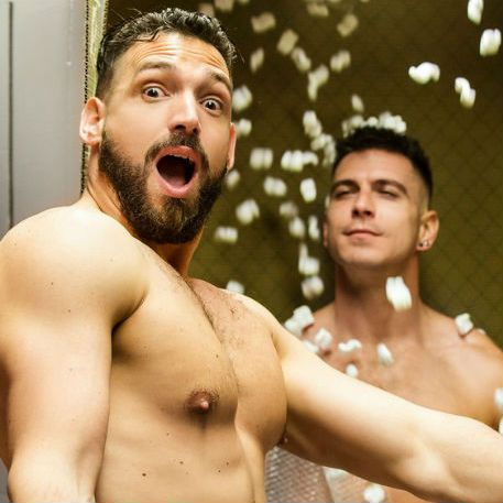 "Enzo Rimenez and Paddy O'Brian in ""HomoPod"" 