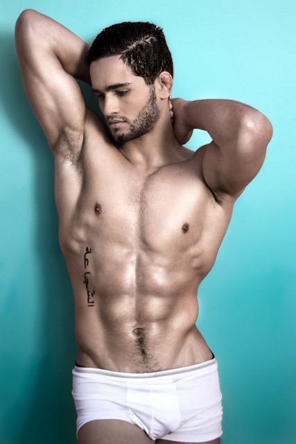 Erwan Posing Gorgeously | Daily Dudes @ Dude Dump