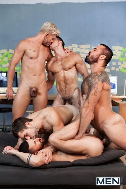 Ex-Machina – A Gay XXX Parody Part 5: 5 guys fuc | Daily Dudes @ Dude Dump