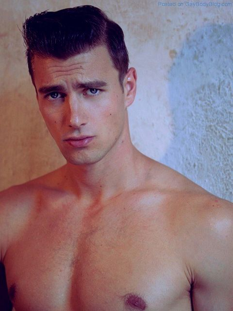 Face Shots Of Handsome New Model Norbi Novak | Daily Dudes @ Dude Dump