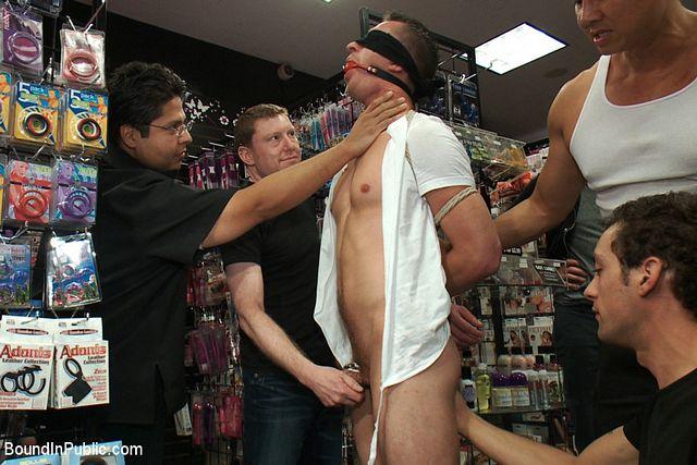 Faq in a porn shop   Daily Dudes @ Dude Dump