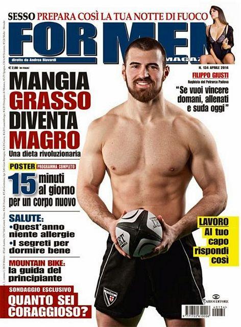 Filippo Giusti for For Men | Daily Dudes @ Dude Dump