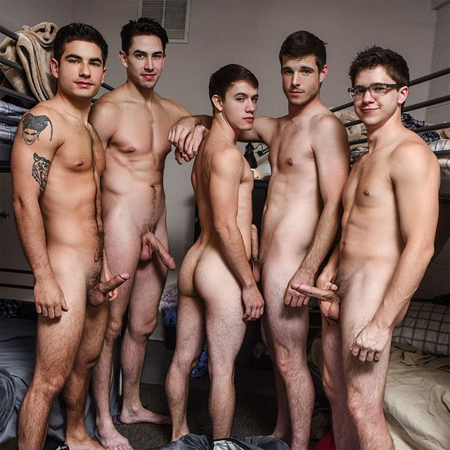 Five guy orgy | Daily Dudes @ Dude Dump