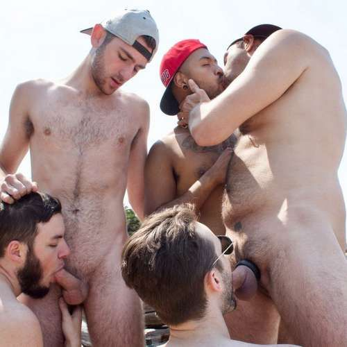 Five Hairy Guys Fuck Raw Outdoor at GUY BONE | Daily Dudes @ Dude Dump