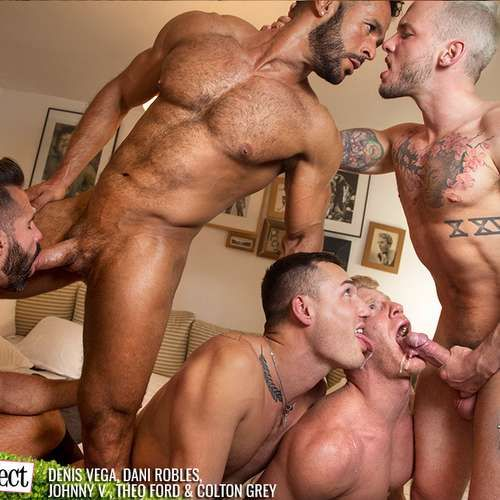 Five Hot Hunks Fuck Hard in Paris Perfect | Daily Dudes @ Dude Dump