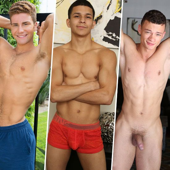 Four hot solo vids | Daily Dudes @ Dude Dump
