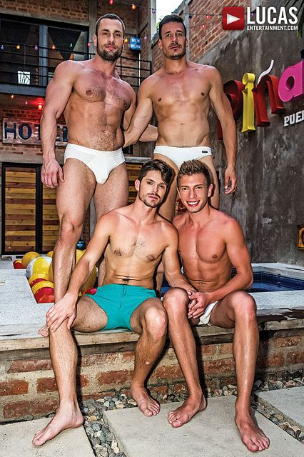 Foursome with Devin, Bogdan, Stas & Roman! | Daily Dudes @ Dude Dump
