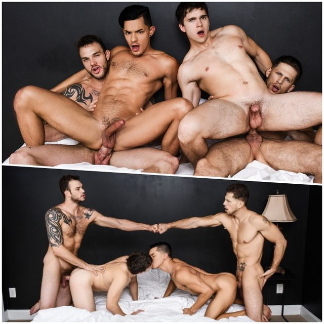 Fourway MEN Fuck Frenzy | Daily Dudes @ Dude Dump