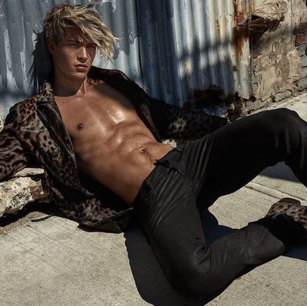 Francisco Lachowski goes BLONDE for Risbel #9 – pr | Daily Dudes @ Dude Dump