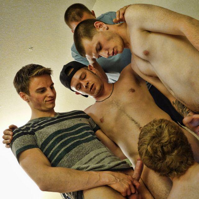 Frat Bros Turn Pledge into a Little Bitch! | Daily Dudes @ Dude Dump