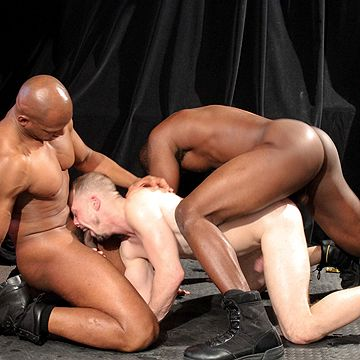 Fucked By Two Black Studs | Daily Dudes @ Dude Dump
