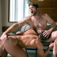 Fucked hard by butch muscle top Colby Keller | Daily Dudes @ Dude Dump