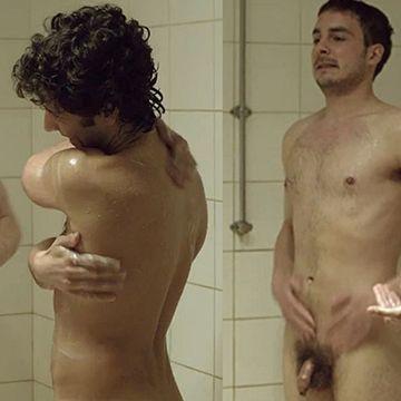 Full frontal nudity in locker room scenes   Daily Dudes @ Dude Dump