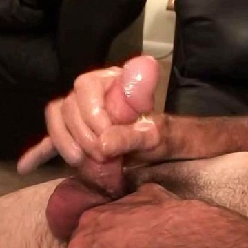 Furry Dad Strokes His Hard Cock | Daily Dudes @ Dude Dump