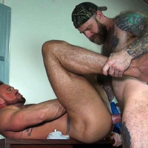 Furry Fucker Jack Dixon Breeds Michael Roman | Daily Dudes @ Dude Dump
