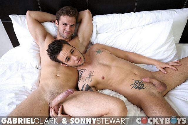 Gabriel Clark fucks Sonny Stewart | Daily Dudes @ Dude Dump