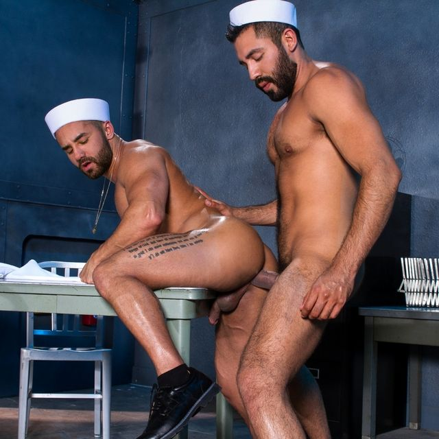 Gabriel Taurus Fucks Bruno Bernal Hard | Daily Dudes @ Dude Dump