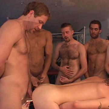 Gang Banged by 9 Men | Daily Dudes @ Dude Dump