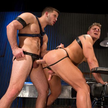 Gay Cock Slave Logan Vaughn Fucked By Angel Rock | Daily Dudes @ Dude Dump