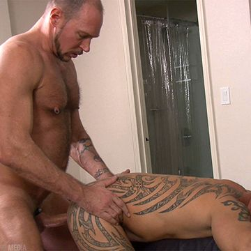 Gay Cum Pig Eddie Kordova Rammed By Randy Harden   Daily Dudes @ Dude Dump