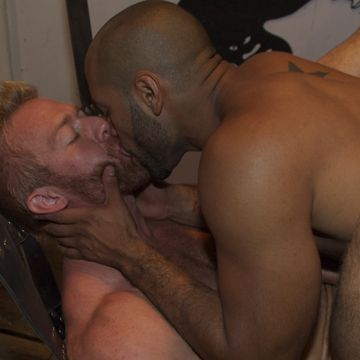 Gay Interracial BDSM | Daily Dudes @ Dude Dump