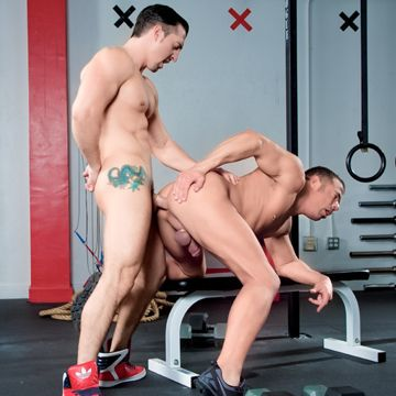 Gay Muscle Men Jimmy Durano And Mike Anders | Daily Dudes @ Dude Dump
