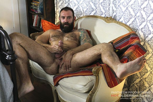 George Glass Shows His Sexy Hairy Body | Daily Dudes @ Dude Dump