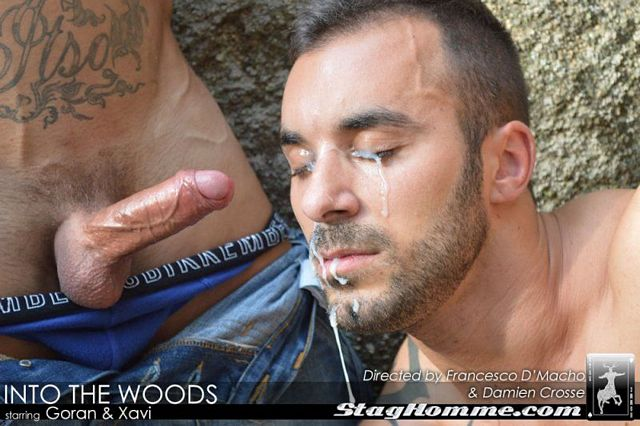 Goran fucks Xavi in the woods | PornoTycoon | Daily Dudes @ Dude Dump