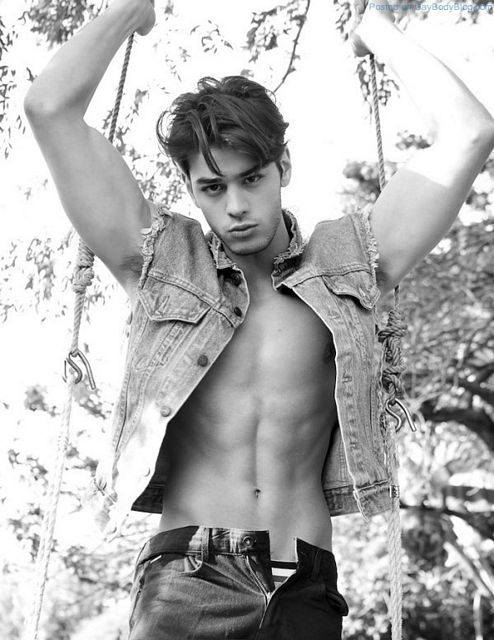 Gorgeous Young Male Model Scott Gardner | Daily Dudes @ Dude Dump