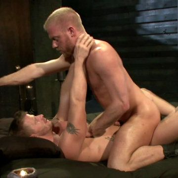 Grinding his ass on Jeremy's cock | Daily Dudes @ Dude Dump
