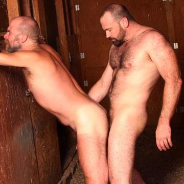 Hairy Daddies Fucky in a Barn | Daily Dudes @ Dude Dump