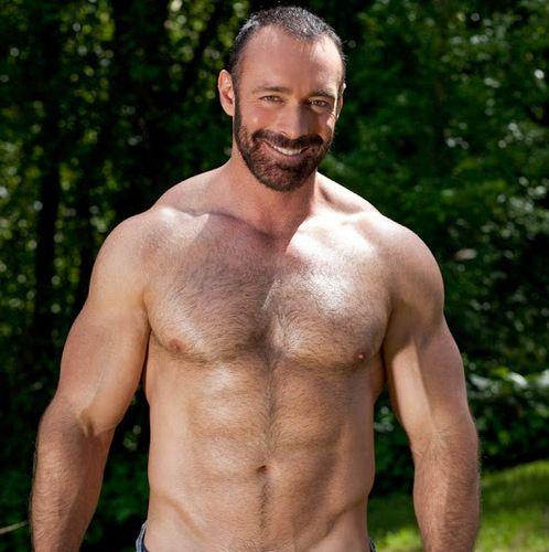 Hairy Gay Porn Star BRAD KALVO | Daily Dudes @ Dude Dump
