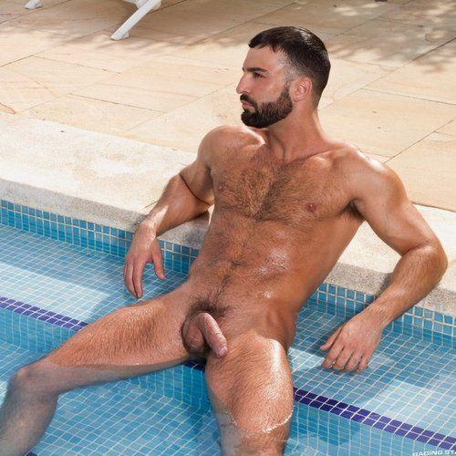 Hairy Gay Porn Star from Lebanon ABRAHAM AL MALEK | Daily Dudes @ Dude Dump