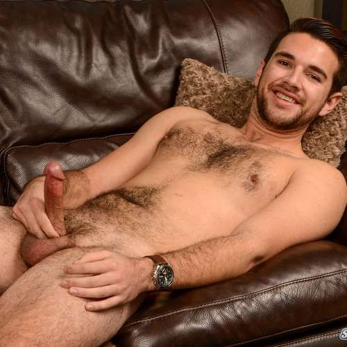 Hairy Guy Derek Jerks off at SPUNK WORTHY | Daily Dudes @ Dude Dump