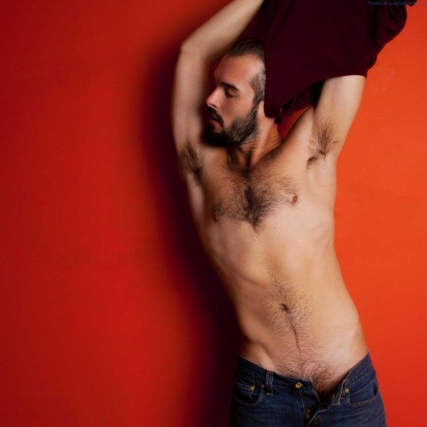 Hairy Handsome Hottie Dusty st. Amand | Daily Dudes @ Dude Dump
