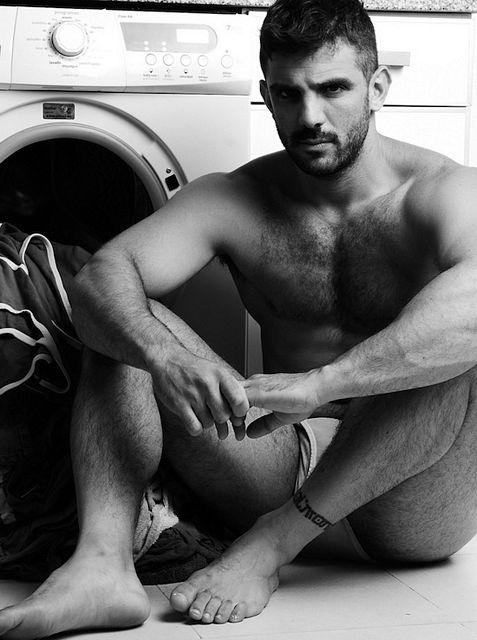 Hairy Hunk Joe Bonomo | Nude Male Models | Daily Dudes @ Dude Dump