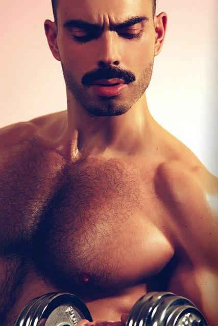 Hairy Hunk Or Seventies Throwback? | Daily Dudes @ Dude Dump
