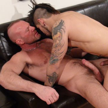 Hairy Muscle Daddy Chad Brock Fucks Draven Torres | Daily Dudes @ Dude Dump