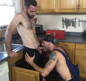 Hairy Top Plumber | Daily Dudes @ Dude Dump